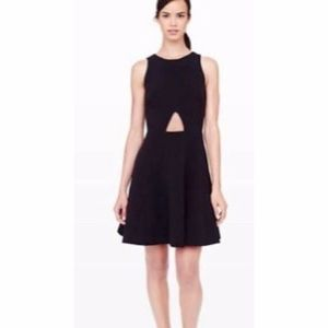 Club Monaco Black Lily Cutout Dress
